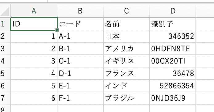 [Excel]csvファイルオープン時に先頭の0が抜けるのを回避する方法